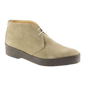 Dirty Buck Suede Leather Hi-Top Chukka Boot
