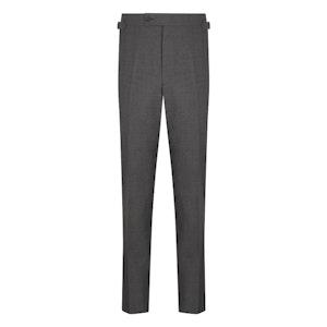 Grey Wool Cavalry Twill Trousers