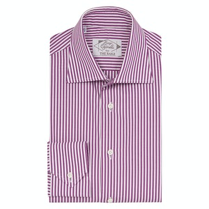 Pink Cotton Raspberry Striped Shirt