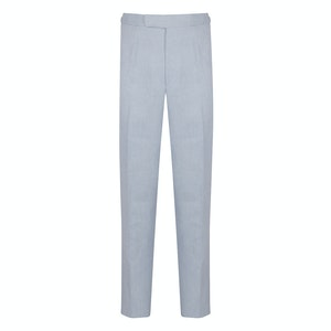 Sky Blue Herring Linen Style One Trousers