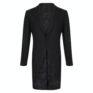 Seaton Cashmere Black Morning Coat
