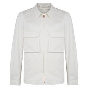 White Bellow Pocket Jacket