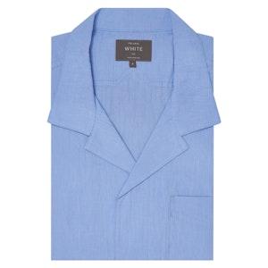 Blue Japanese Ripley Shirt