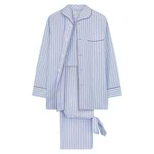 Burgundy Stripe Classic Pyjama Set