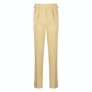 Beige Gabardine House Trousers