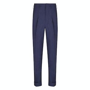 Indigo Wool Hollywood Trouser