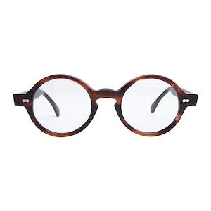 Brown Acetate Oxford Havana Optical Glasses