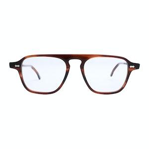 Brown Acetate Panama Havana Optical Glasses