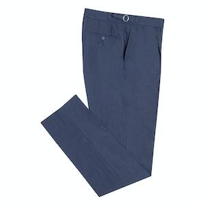 Navy VBC Ultra Light Wool Trousers