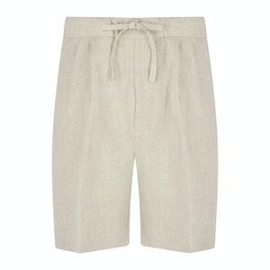 Stone Linen S005 Drawstring Shorts