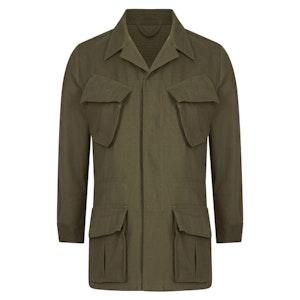 Olive Cotton J002 Jungle Jacket