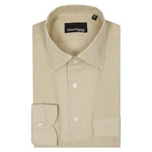 Sand Linen Safari Shirt