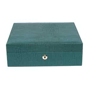 Green Leather Brompton Watch Box