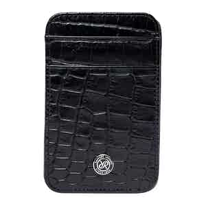 Black Leather Director's Range Magic Wallet