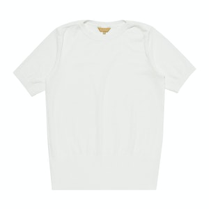 Ivory Serie-Knit Monte Carlo T-shirt