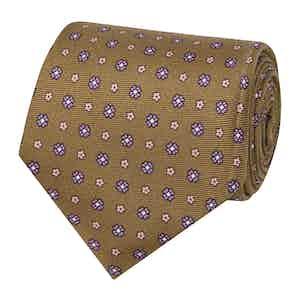 Havana Pink Floral Silk Tie