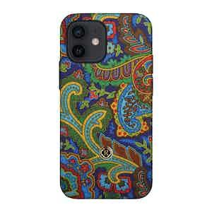 Multicoloured Silk Grand Tour Soleil iPhone 12 Mini Case