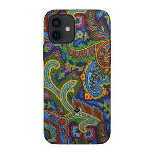 Multicoloured Silk Grand Tour Soleil iPhone 12/12 Pro Case