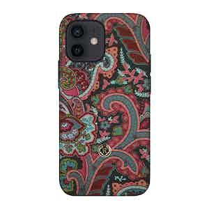 Multicoloured Silk Grand Tour Ombre iPhone 12 Mini Case