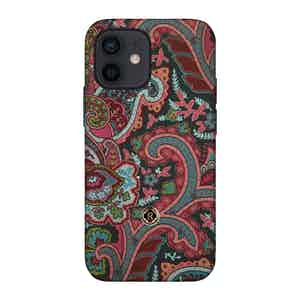 Multicoloured Silk Grand Tour Ombre iPhone 12 Mini Case