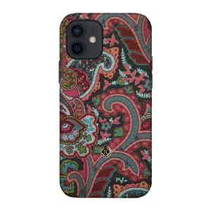 Multicoloured Silk Grand Tour Ombre iPhone 12/12 Pro Case
