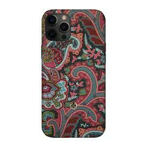 Multicoloured Silk Grand Tour Ombre iPhone 12 Pro Max Case