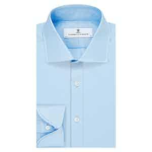 Blue Cotton Cocktail Cuff Dr. No Shirt