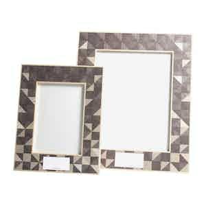 Neutral Geometric Triangle 5x7 Frame