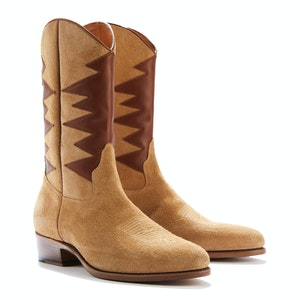Light Brown Roughout Suede Cormac Desert Boots