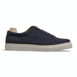 Navy Suede Oaxen Sneaker