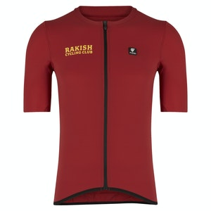 The Rake Riders Negroni Red Cycling Club Top