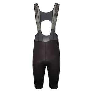 The Rake Riders Black Cycling Black Insignia Bib Shorts