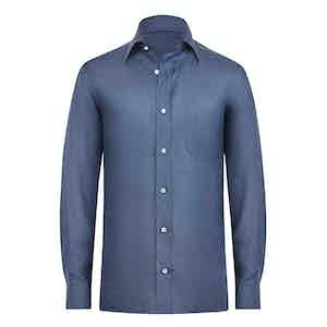 Linen Avion Navy Shirt