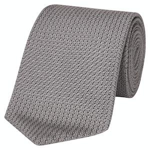 Slate Silk Grenadine Tie