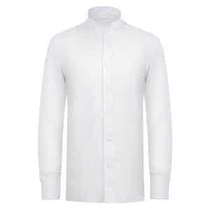 White Linen Pocket Guru Shirt