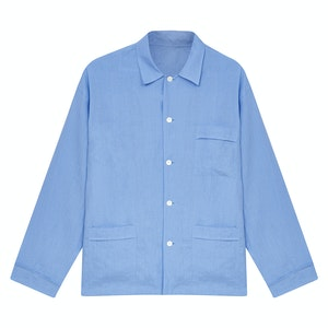 Blue Linen Pyjamas