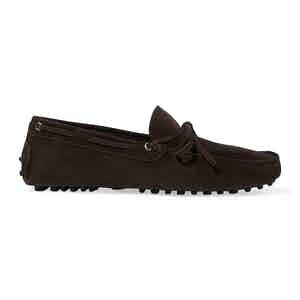 Brown Suede James Driving Shoes