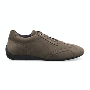 Taupe Suede Iconic Low Driving Shoe