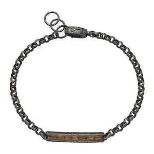 Yellow Silver Ara Rectangular Bracelet