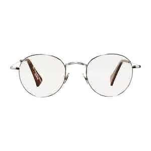 Silver Rhodium Vicuna Optical Glasses