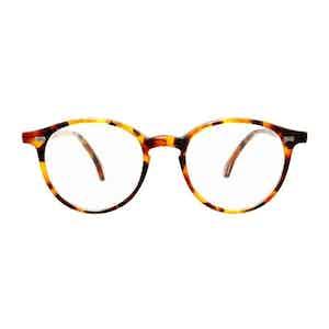 Amber Tortoiseshell Acetate Optical Glasses