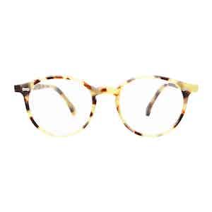 Light Tortoishell Acetate Optical Glasses