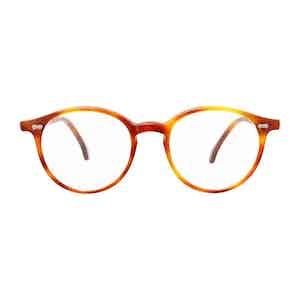 Brown Tortoishell Acetate Optical Glasses