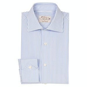 Laguna Blue Cotton Striped Shirt
