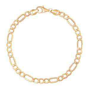 Gold Figaro Bracelet