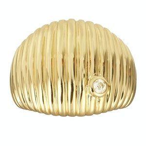 Gold Berlingo Signet Ring
