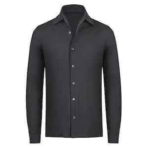 Grey Cashmere Shirt