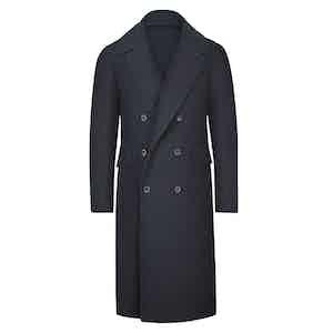 Blue Wool Ulster Coat