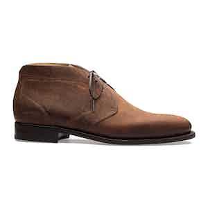 Brown Kudu Waxy Chukka Boot