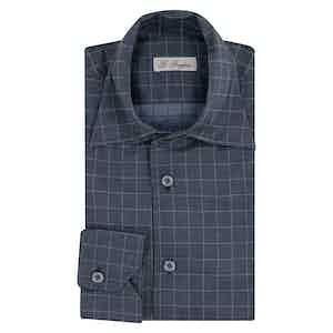 Grey Flannel Check Shirt